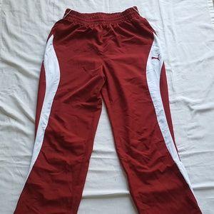 Vintage Puma Medium Sweatpants Ankle Zip